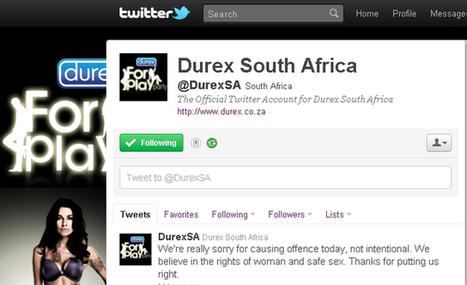 Durex's sexist Twitter blunder by Bryony Whitehead | Twit4D | Scoop.it