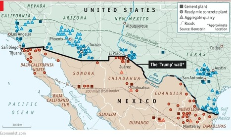The economics of Donald Trump's wall | Spatial literacy | Scoop.it