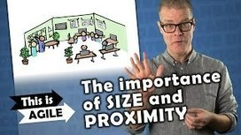 Crisp's Blog » Video clip – The importance of team size and proximity | Agile Methods | Scoop.it