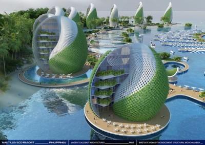 These futuristic ...