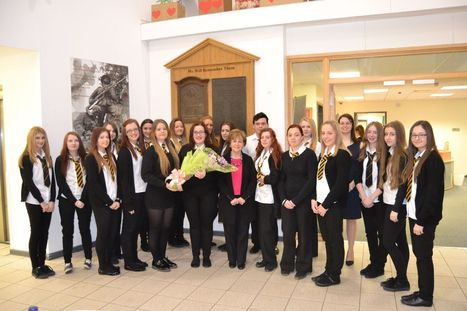 Holocaust survivor describes scenes of 'hell' at Bergen-Belsen death camp to Maesteg School pupils | Humanity | Scoop.it