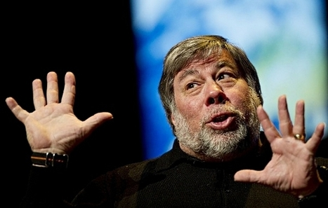 Steve Wozniak Thinks Apple And Google Should Work Together   Musica, Copyright & Tecnologia   Scoop.it