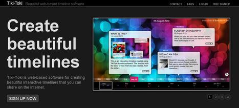 8 Excellent Multimedia Timeline Creation Tools for Teachers | Pedalogica: educación y TIC | Scoop.it