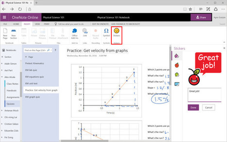 Microsoft announces a series of new educational features for OneNote | TEFL & Ed Tech | Scoop.it