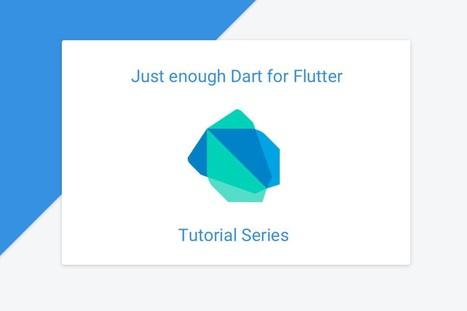 Just enough Dart for Flutter   Flutter Packages