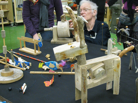 Taking Robert Race's Automata short course at West Dean College | Heron | Scoop.it