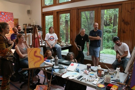 Visionary Painting Intensive at CoSM - Alex Grey   Well Loved Woman   Scoop.it