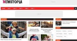 Newstopia | Blogger themes | Scoop.it