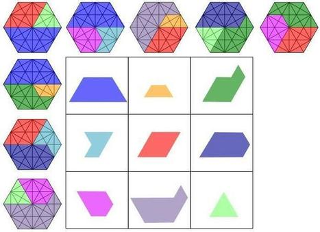 Geometric squares | Great Maths Teaching Ideas | Educated | Scoop.it