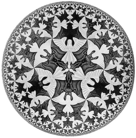 Mathematics Made Visible: The Extraordinary Art of M.C. Escher | omnia mea mecum fero | Scoop.it