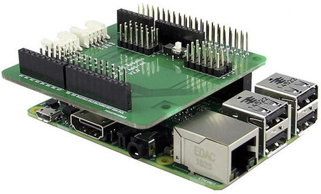 $5 Add-on Board for Raspberry Pi Supports Arduino Shields and Grove Modules (with Caveats) | Embedded Systems News | Scoop.it