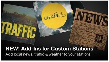 iHeartRadio, la webradio personnalisée intègre l'info locale géolocalisée | Radio 2.0 (En & Fr) | Scoop.it