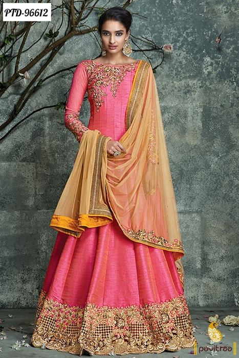 Anarkali Salwar Suit In Online Shopping For Womens Clothes In India