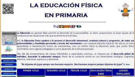 Sitios web de docentes de Educación Física | Scoop.it