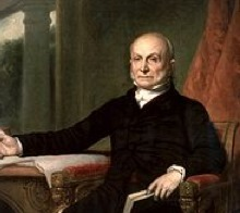 "John Quincy Adams ""got"" leadership 