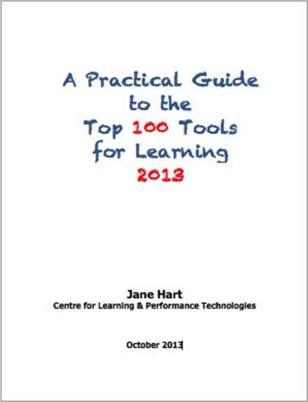 A Practical Guide to the Top 100 Tools for Learning 2013: Contents « Top 100 Tools for Learning | Alfabetización digital | Scoop.it