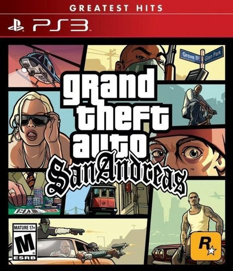 Grand Theft Auto San Andreas (USA) PS3 ISO Free
