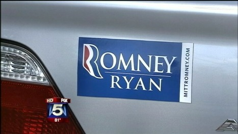 Man says parking officer criticized Mitt Romney bumper sticker | Show Prep | Scoop.it