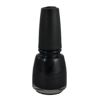 China Glaze Nail Polish BLACK DIAMOND Lacquer 77029 Salon Girlie .5 oz  Manicure f5697976ba21
