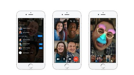Facebook Messenger Now Lets You Video Chat with up to 50 People | The Verge | SocialMoMojo Web | Scoop.it