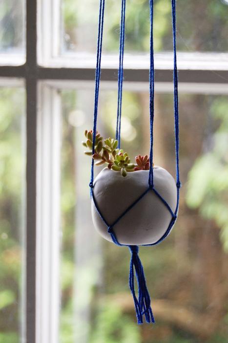 Tutorial: Tiny Polymer Clay Plant Pots | Botany Whimsy | Scoop.it