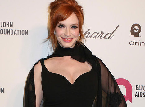 Christina Hendricks at an Oscars party - Front Page Buzz | Women | Scoop.it