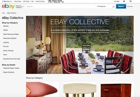 Du neuf chez eBay! eBay Collective, includes a visual searchengine | Fresh from Edge Communication | Scoop.it