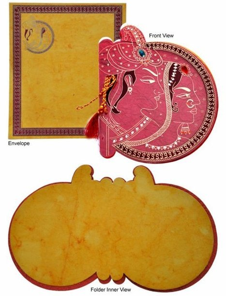 Muslim Marriage And Their Invitation Cards On