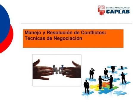 Manejo y Resolución de Conflictos: Técnicas de Negociación - Documents   Espacios Multiactorales   Scoop.it