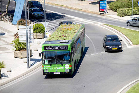 Why Not Put Green Roofs On Buses?   Awe of the universe   Scoop.it