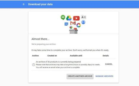 how to download a copy of everything google kno