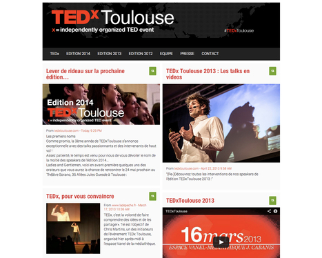 TEDx Toulouse   Easy to use tooles and methods   Scoop.it