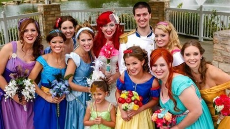 This is the most impressive Disney Princess wedding we've ever seen | Cosplay News | Scoop.it