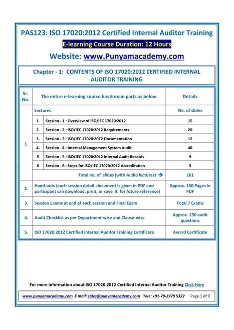 mechanical calibration training course |
