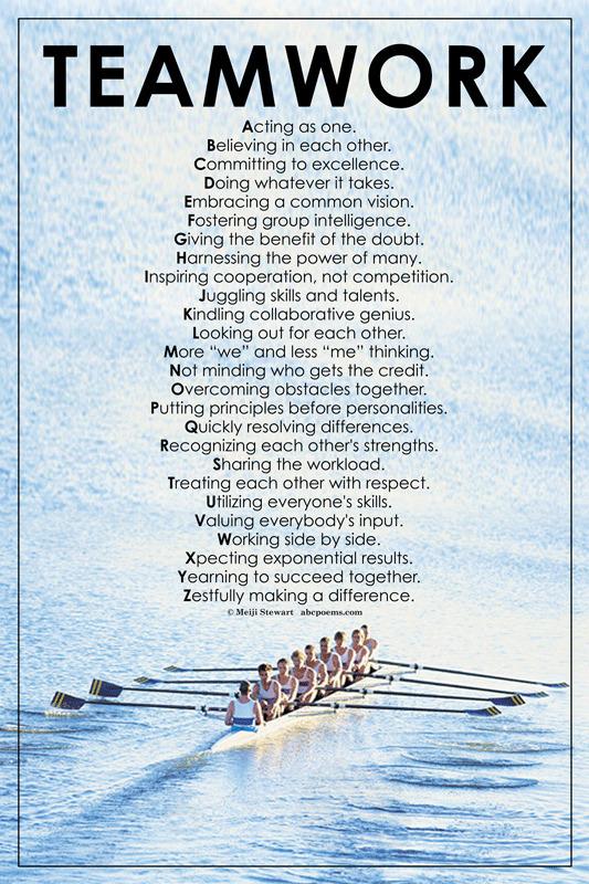 A NiceTeamwork Poem | TeamWork-SAGA | Scoop.it