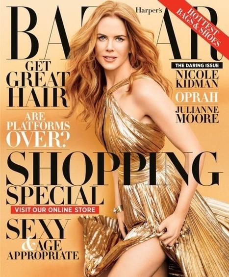 Celebphotobox: Nicole Kidman Covers the November Issue of Harper's Bazaar | Nicole Kidman | Scoop.it