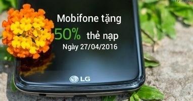 Khuyến mãi 50% thẻ nạp Mobifone ngày 27/4/2016 | Dịch vụ di động | Scoop.it