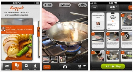 Create Step-by-Step Multimedia Guides with Your iPhone: Snapguide | Mobile Publishing Tools | Scoop.it