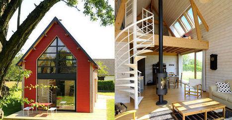 une petite maison d 39 architecte en bois ma mai. Black Bedroom Furniture Sets. Home Design Ideas