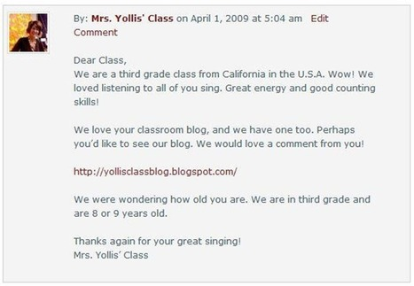 ISTE 2012: Flattening Classroom Walls with Blogging and Global Collaboration - The Edublogger | TICE & FLE | Scoop.it