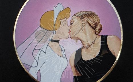 Quand les personnages Disney embrassent la culture pop ... - Yagg | Actu LGBT | Scoop.it