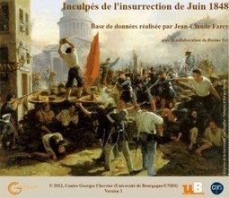 Inculpés de l'insurrection de Juin 1848 (base de données) | Le blog Criminocorpus | GenealoNet | Scoop.it