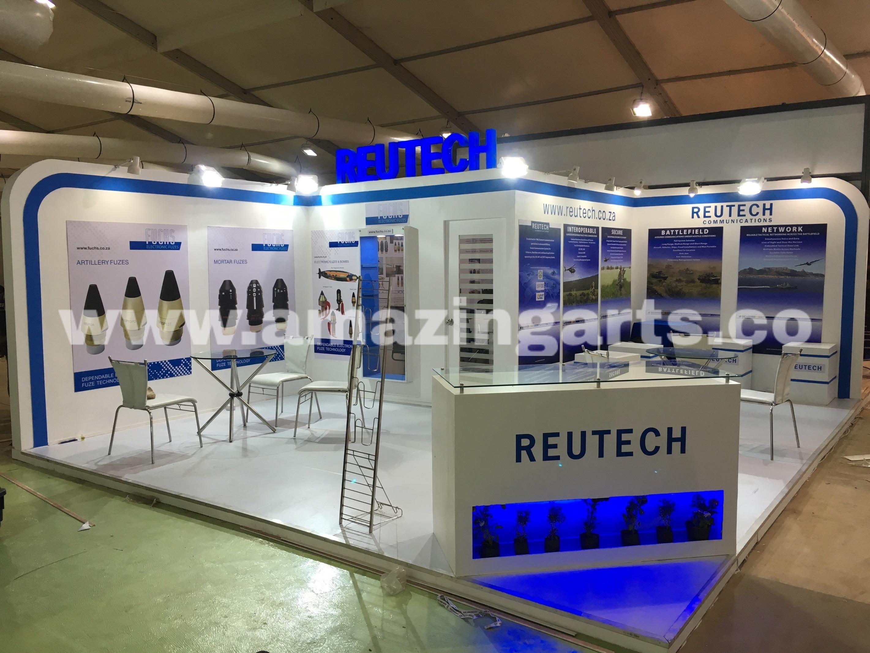 Exhibition Stand Design Decor S L : Defex expo exhibition stall designer am