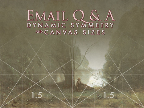 Email Q & A: Dynamic Symmetry and Canvas Sizes | Abolish the Rule of Thirds | Scoop.it
