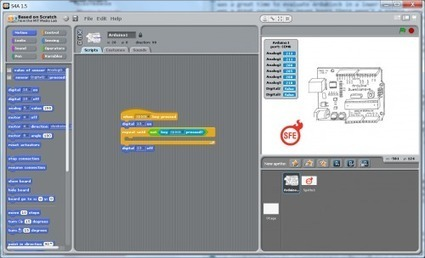 Enginursday: Visually Programming Arduino - News - SparkFun Electronics | Arduino in the Classroom | Scoop.it