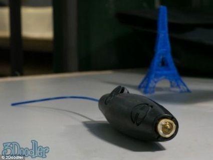 3Doodle: El bolígrafo que crea dibujos en 3D   Madres de Día Pamplona   Scoop.it