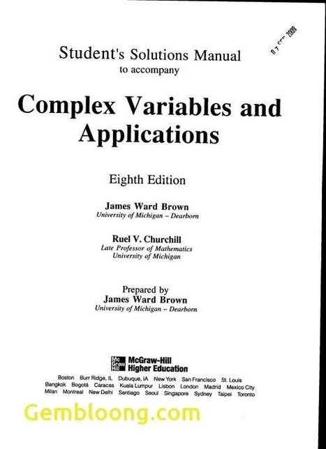 complex variables and applications brown church rh scoop it Complex Physics Equations Complex Physics Equations