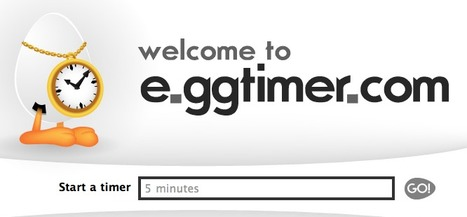E.gg Timer - simple online countdown timer | Edu 2.0 | Scoop.it
