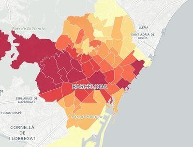 Les desigualtats entre els barris de Barcelona, en cinc mapes   #territori   Scoop.it