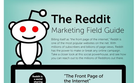 The Reddit Marketing Field Guide - Visual Contenting | Visual Marketing & Social Media | Scoop.it